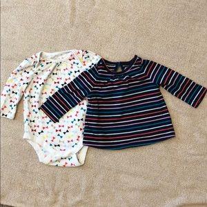 Baby Gap Tops-set of 2